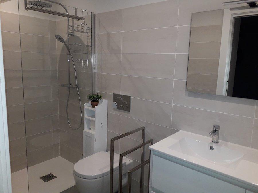 salle de bain - chambre d'hôte Aamalurra