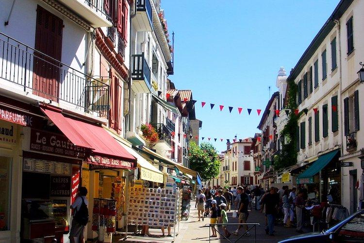 Rue Gambetta Saint-jean-de-luz